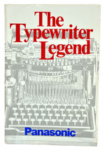 TYPEWRITER LEGEND, Frank T. Masi 1985