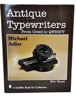 ANTIQUE TYPEWRITERS M.Adler 1997