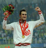 2008 Beijing: Moiseev (RUS) is only the second man in history to retain his Olympic title