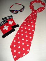 Krawatte Fr.3.50,Brille, Armband je Fr.1.50