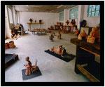 Sculpture : L'atelier du Nil aux Beaux-Arts à Angoulême
