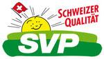 Logo SVP mit Link zur SVP Schweiz