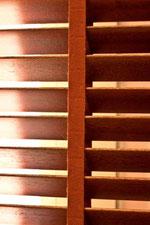 Venecianas de madera