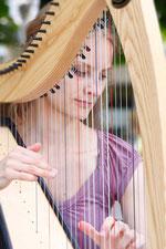 Keltische Harfe