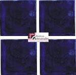 Azulejo Talavera Lliso en color Azul Especial en 10.5 x 10.5 cm, ideal para baños y cocinas mexicanas lo encuentras en Rústicos Artesanales visítanos en nuestra web www.rusticosartesanales.com