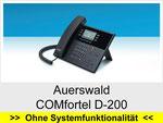 Auerswald  COMfortel D-200: Schnurgebundenes IP Telefon