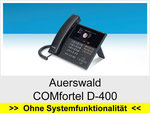 Auerswald  COMfortel D-400: Schnurgebundenes IP Telefon