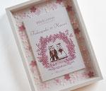 木製アートボックス「バラのアーチ」