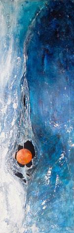 peinture abstraite terre à délits