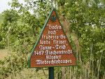 am Radweg nach Schwiegershausen