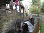 Mühlrad an der Heise`schen Mühle