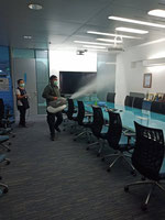 Sanitise meeting rooms quickly and safely