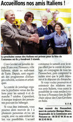 L'Essor Savoyard - 13 sept. 2012