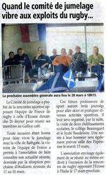L'Essor Savoyard - 8 mars 2012