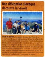L'Essor Savoyard - 30 août 2012