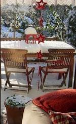 Weihnachten im Garten