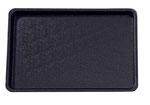 Plateau de présentation 9903002, 400x300mm, FMU GmbH, plateaux de présentation noirs