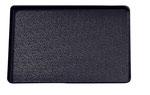 Plateau de présentation 9903021, 290x195mm, FMU GmbH, plateaux de présentation noirs