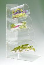 Distributeur en forme de tube 9402502, FMU GmbH, Accessoires pour le snacking