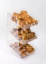 Présentoir pour produits de boulangerie 9910024, FMU GmbH, Accessoires de vente