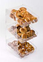 Présentoir pour produits de boulangerie 9910024, FMU GmbH, Distributeur à pain