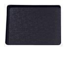 Plateau de présentation 9903022, 250x195mm, FMU GmbH, plateaux de présentation noirs
