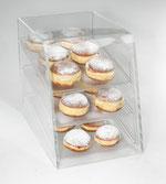 Présentoir à Donut 9402001, FMU GmbH, Présentoir transparent