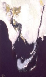 AUF- UND AB, Acryl auf Leinwand, 80 x 120 cm, 1995