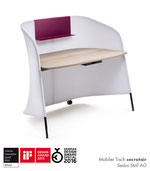 sedus secretair, interior innovation award, if design award