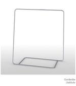 Garderobe Stahlrohr minimalistisch