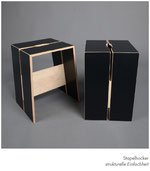 Hocker stapelbar minimalistisch