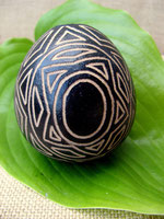 Calabash Egg Shaker, Peru
