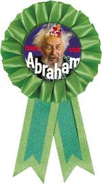 Rozet Abraham groen € 2,95