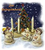 Weihnachtsartikel Räuchermänner Baumbehang Weihnachtsdekoration Pyramiden