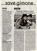 Article du 13 octobre 2012