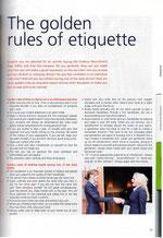 Boek Erasmus Recruitment Days 2012 Build your careermet een artikel van Gonnie 14 'The golden rules of etiquette'. Een gids voor een van de grootste recruitments events van Europa met 2000 studente