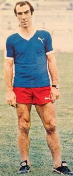 Antoine REDIN le coach bastiais (Photo France Football)