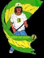 LA PESADA y la LEGION EXTRANJERA ALDOSIVISTA en cualquier cancha del mundo, alentando al TIBURON!!!