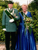 König: Elmar Steinmetz - Königin: Gisela Tenhonsel