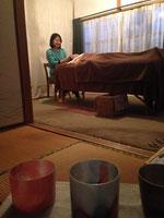 広島県福山市にて クリスタルボウルとコラボセッション