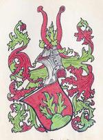 Wappen der Familie Boschert (nach einem Siegel des Hans Boschert - Vogt zu Heiligenberg)