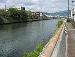 巴川の下流