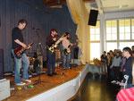 Band mit Publikum
