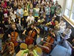 Orchester, rechte Seite