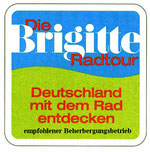 """von der Zeitschrift """"Brigitte"""" 2005 empfohlen - Mit dem Fahrad durch ganz Deutschland"""