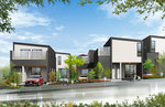 兵庫県に建設の住宅団地の外観パ-ス