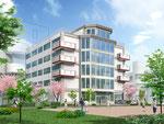 大阪に建設の大学校舎