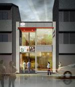 岡山に建設の美容院