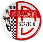 Chapa de Servicio Ducati