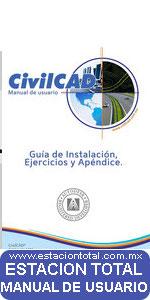 manual de usuario civilcad